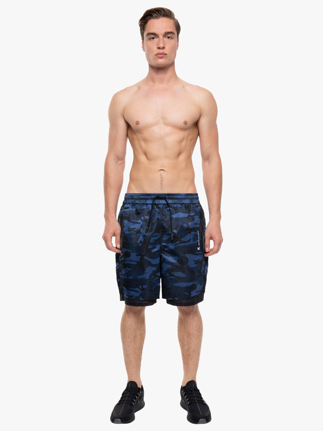 Double Training Camouflage Short