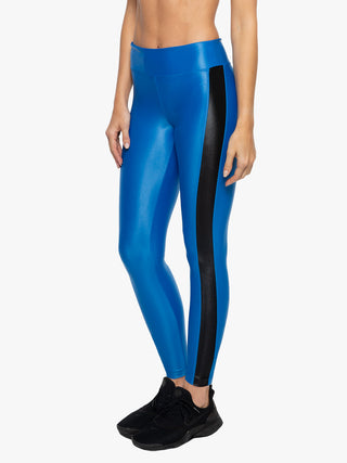 Dynamic Duo High Rise Infinity Legging - Aura/Black