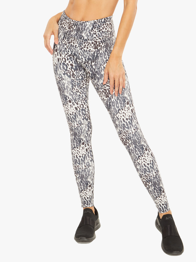 Drive High Rise Blackout Cheetarah Legging