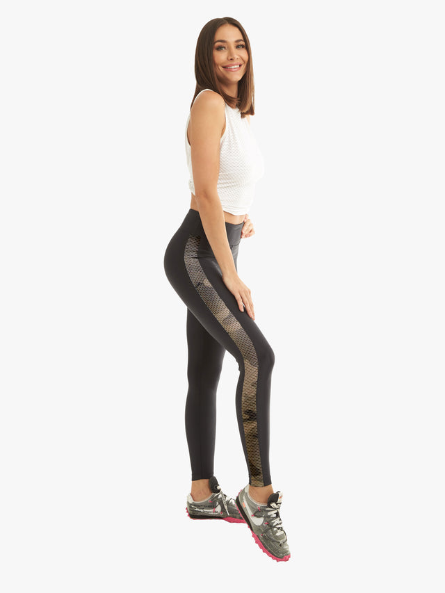 Dynamic Duo High Rise Legging - Black Camo
