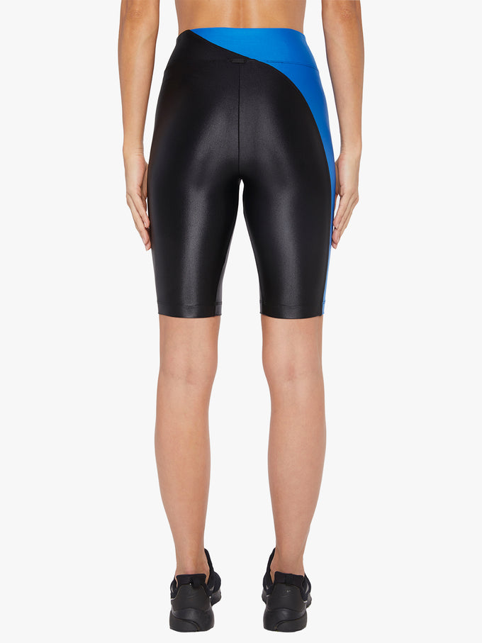Swift High Rise Infinity Bike Short - Black/Aura