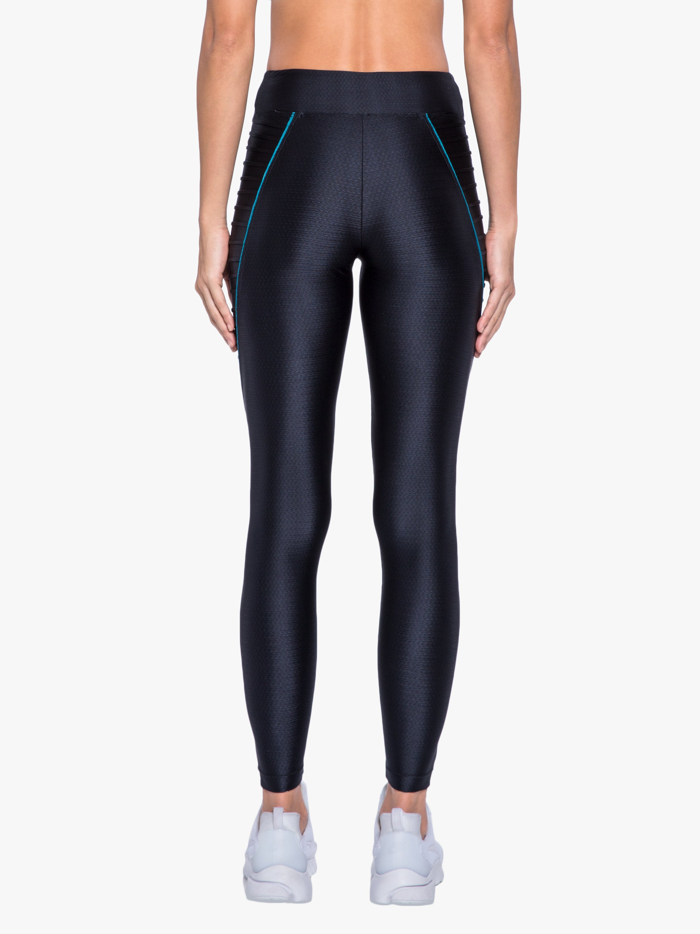 Ethereal Mid-Rise Legging - Black