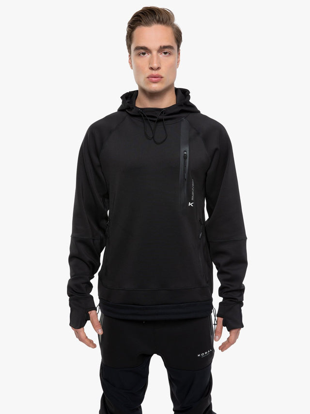 Flight Hooded Scuba Sweatshirt