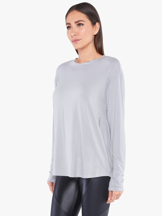 Flourish Bamboo Long Sleeve Top