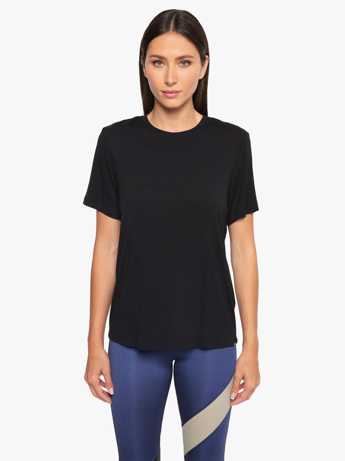 Arabela Brisa Short Sleeve T-Shirt - Black