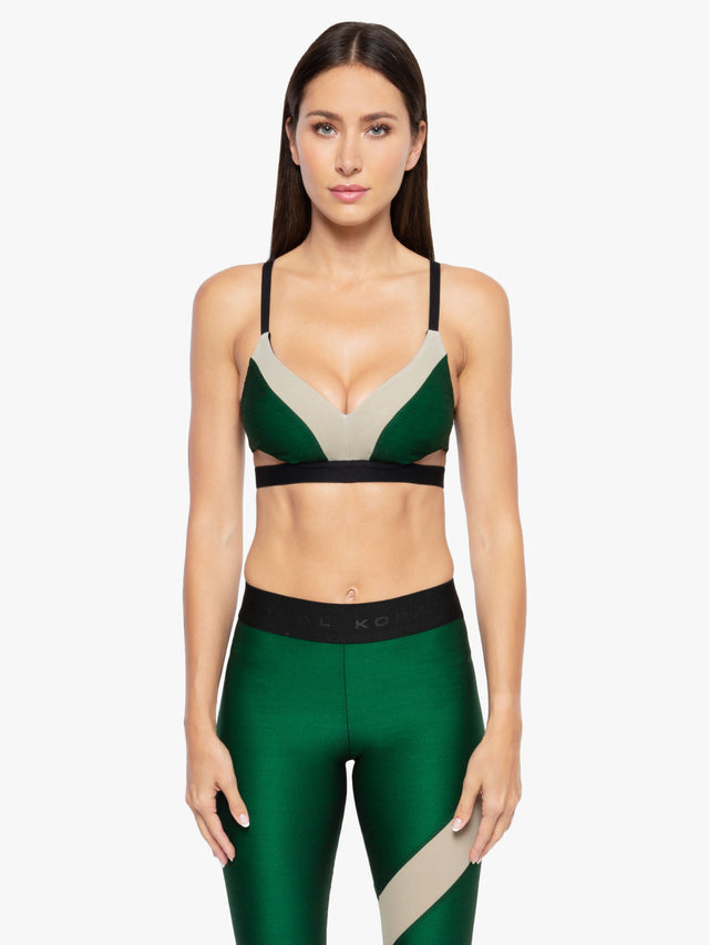 Limerence Shantung Sports Bra
