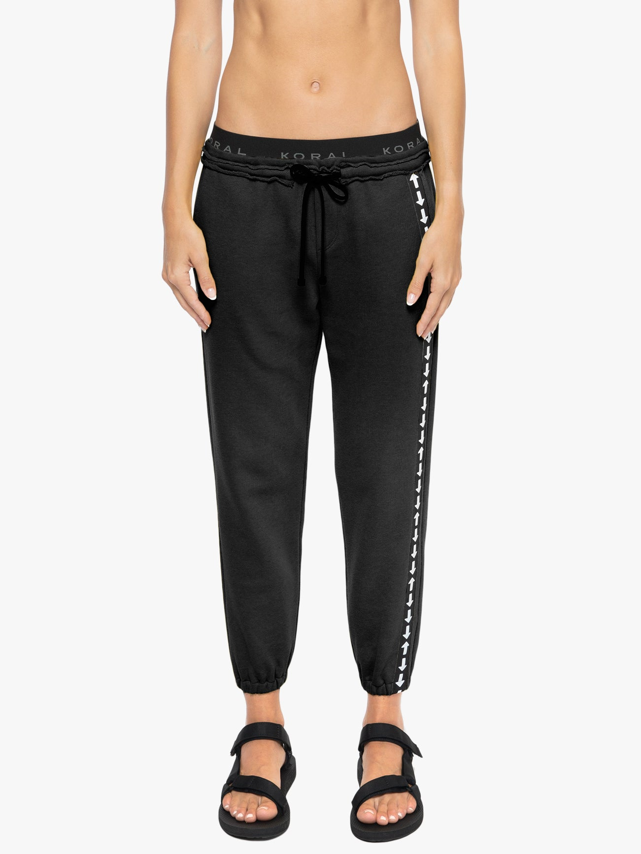Napo Matte Sweatpants - Black