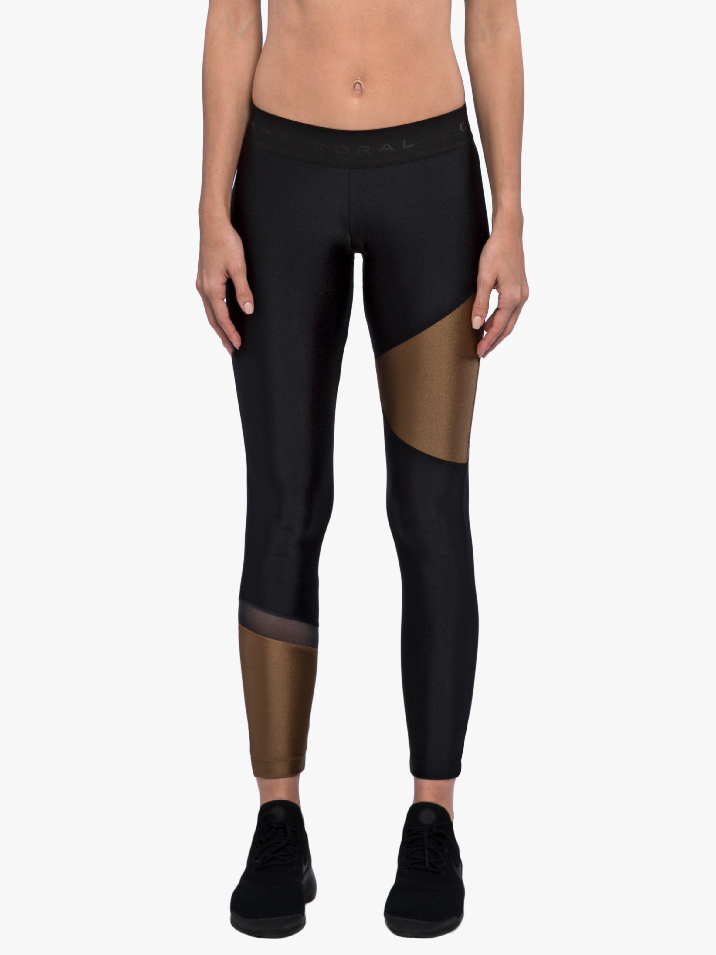 Glacier Sprint Legging - Black/Toffee