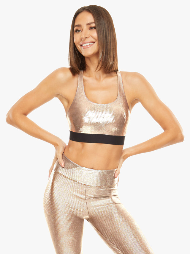 Tax Glaze Sports Bra