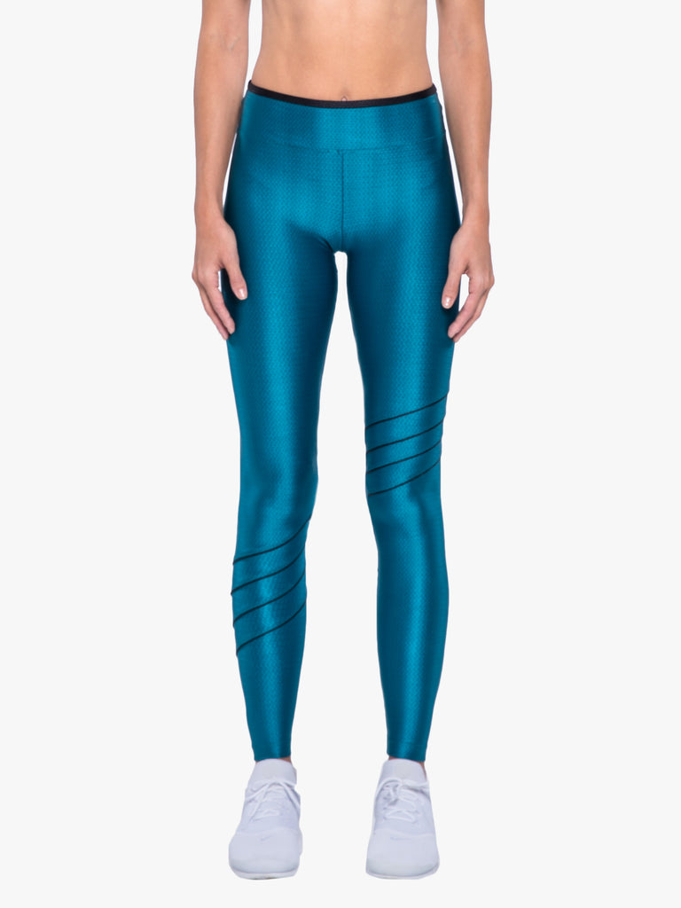 Illicit High Rise Legging - Calypso Teal