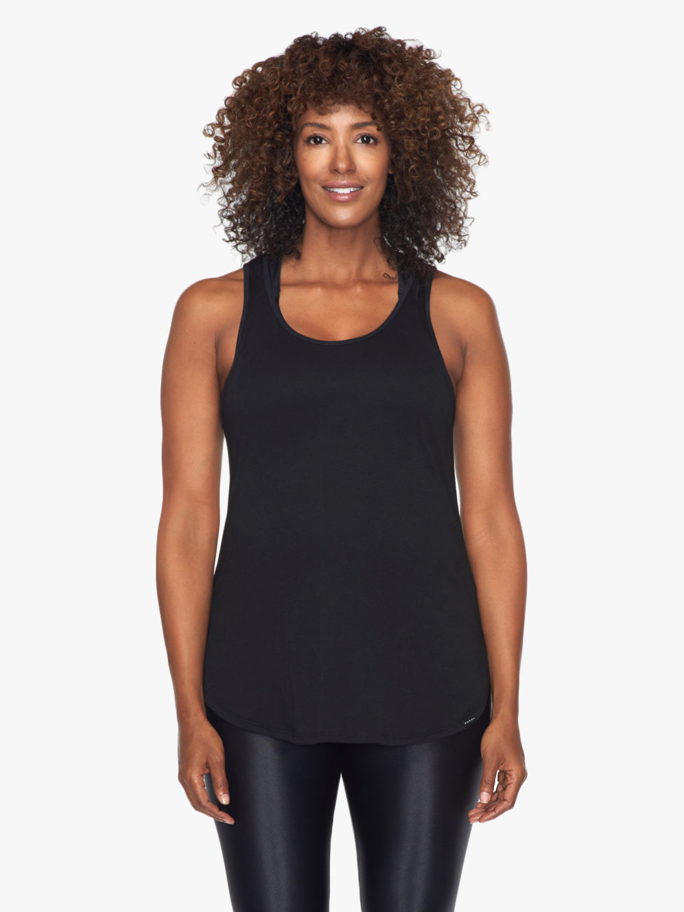 Impulse Maternity Tank - Black