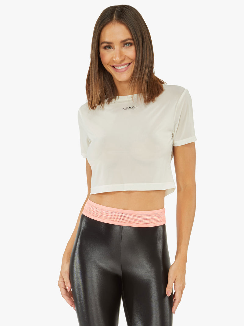 Ida Screen Crop Top