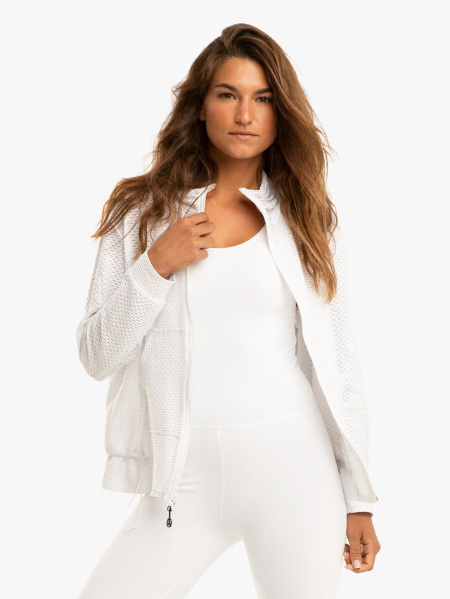 Bare Knuckle Netz Jacket - White