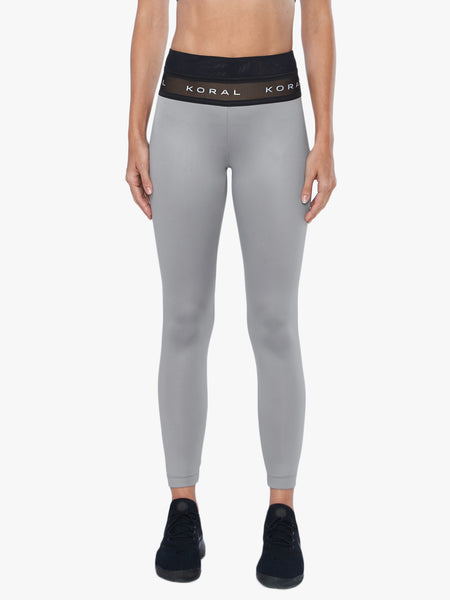 Rue High-Rise Legging - Chromium