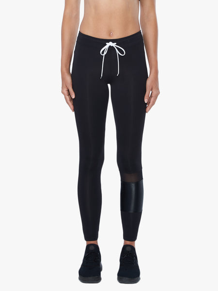Castle Mid-Rise  Legging - Black