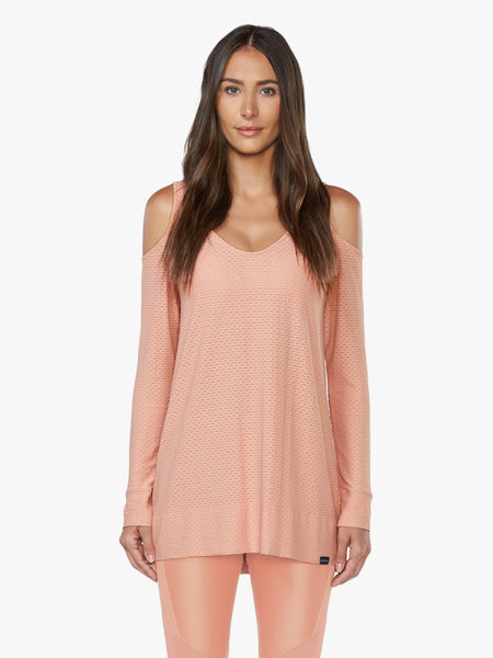 Show Off Sweat Tunic - Cameo