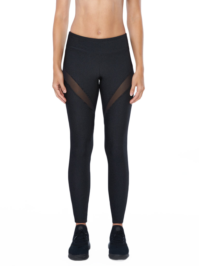 Playa Mid-Rise Speed Legging - Black