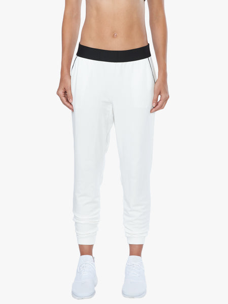 Pace Terry Pant - White