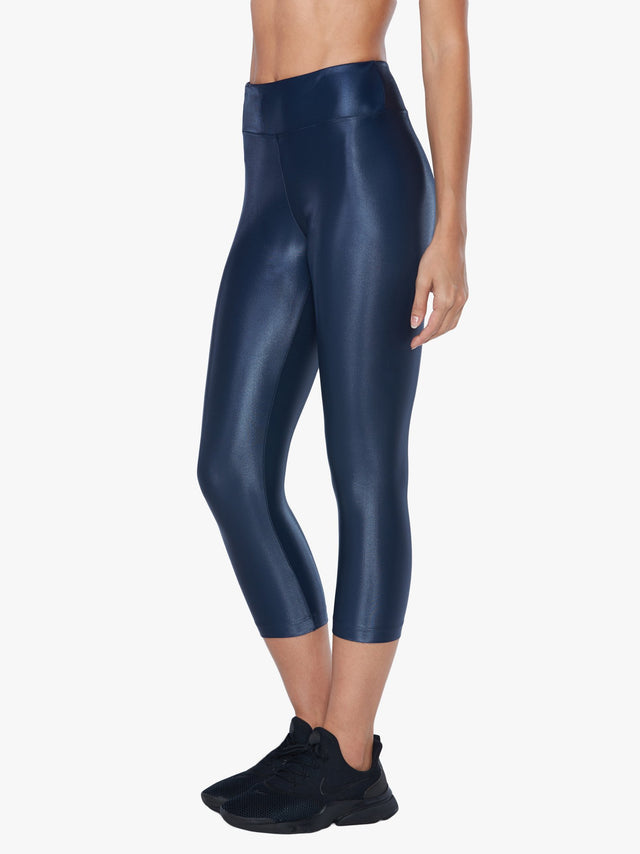 Lustrous High Rise Capri Legging