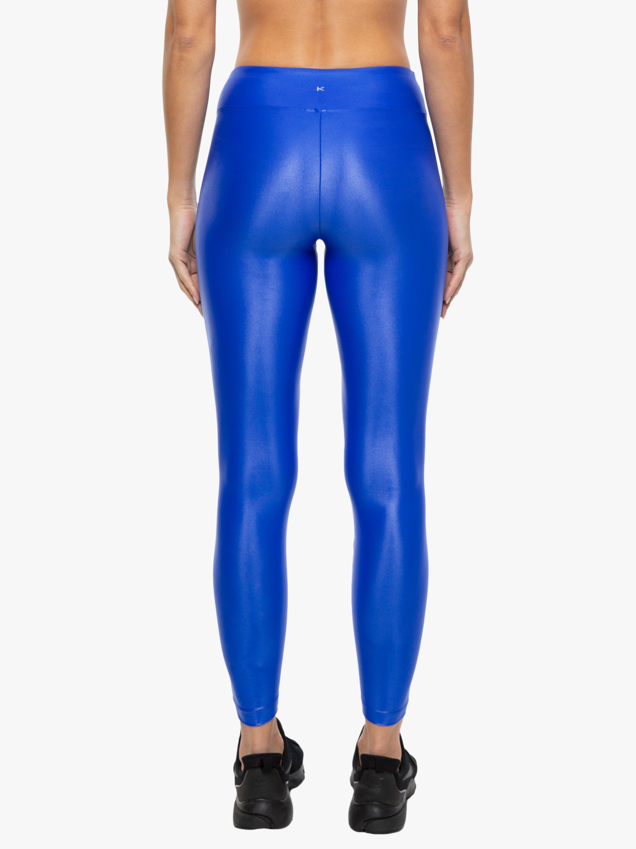 Lustrous High Rise Legging - Royal Blue