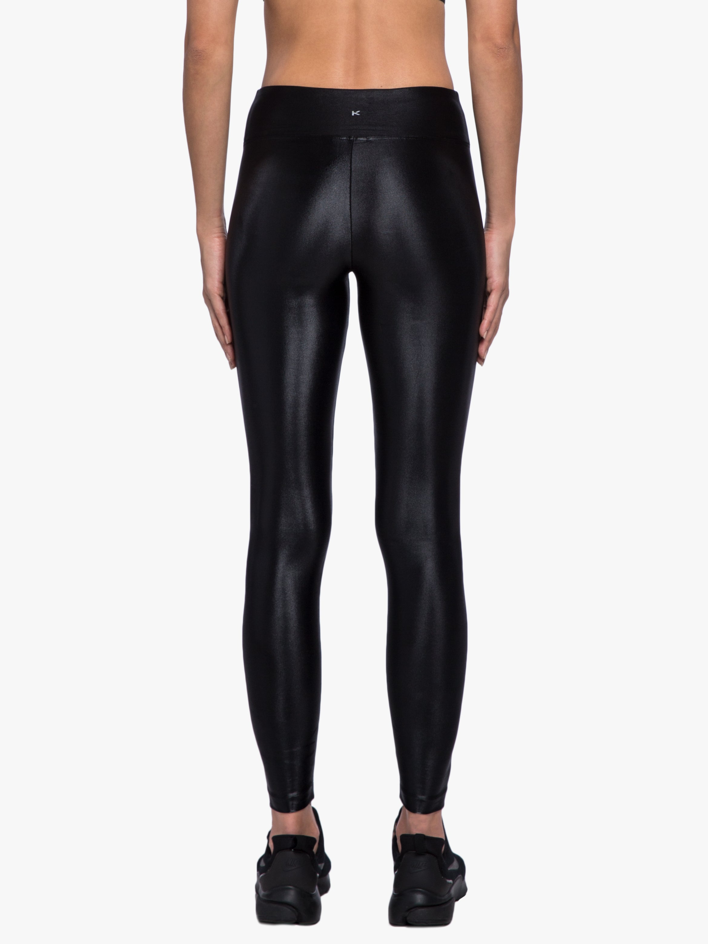 One Heart Lustrous High Rise Legging - Black
