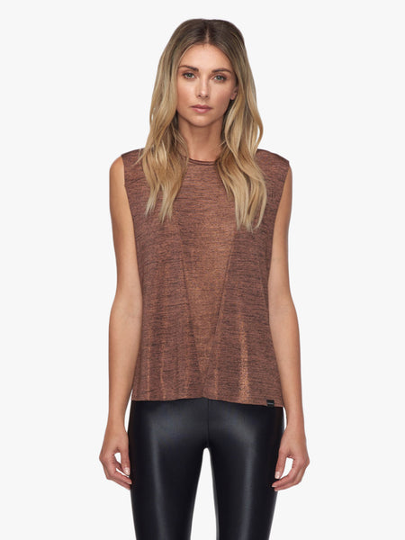 Move Muscle Top - Copper Heather