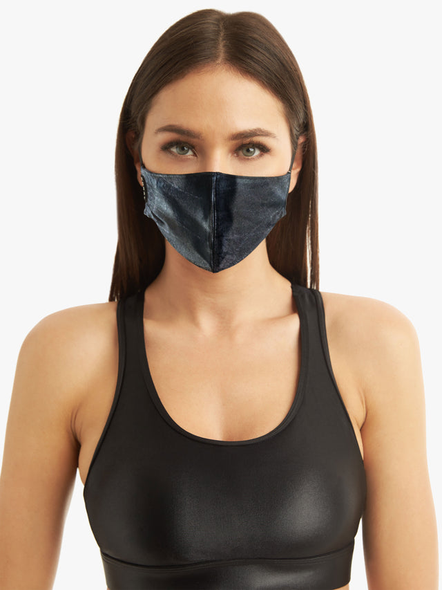 Koral Navy Cayman Face Mask
