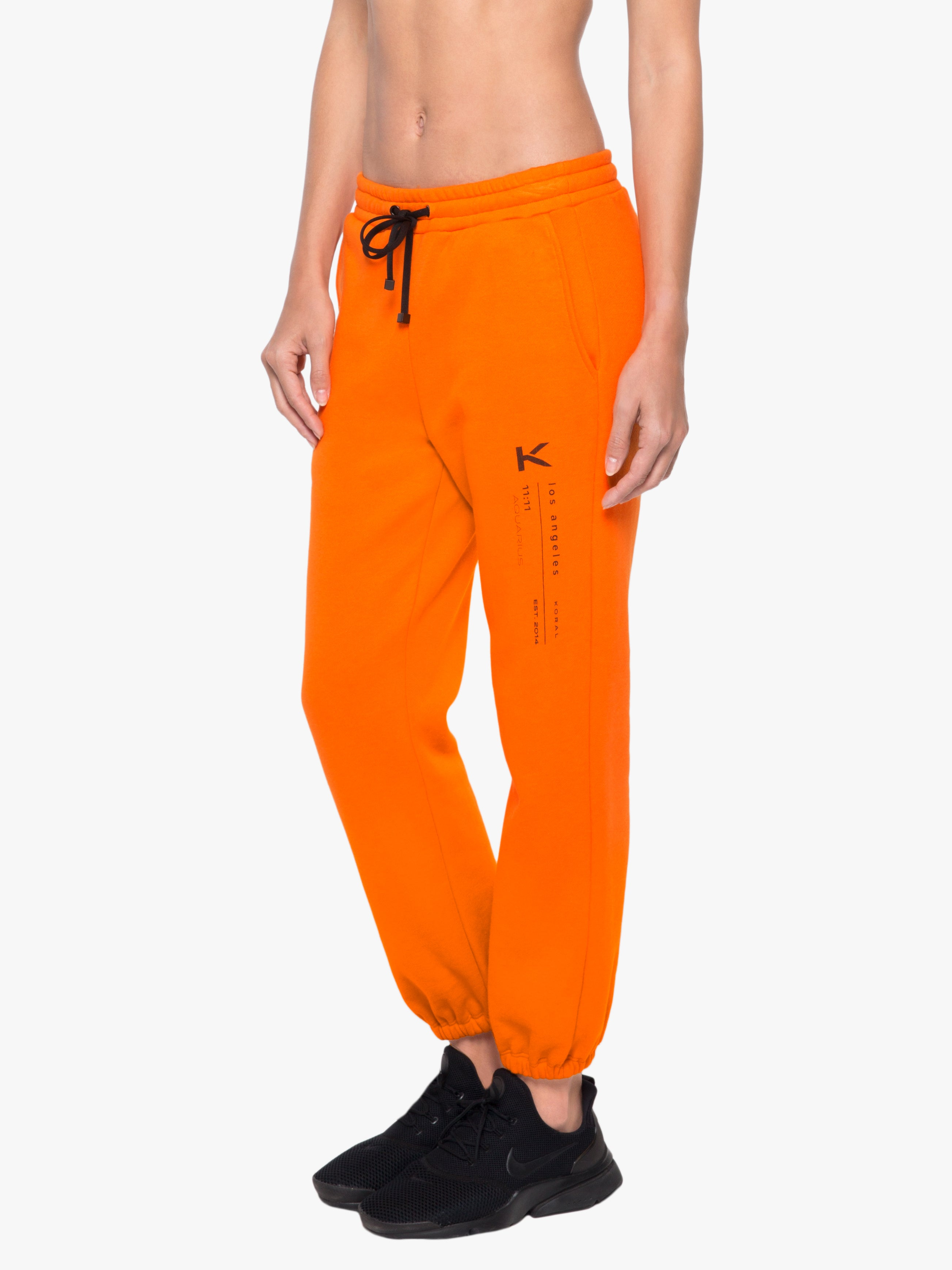 Oblivion Matte Sweatpant - Jaspar Orange