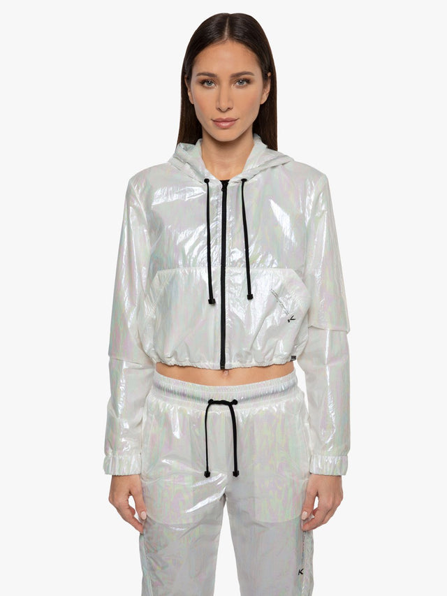 Portal Cropped Spheric Jacket