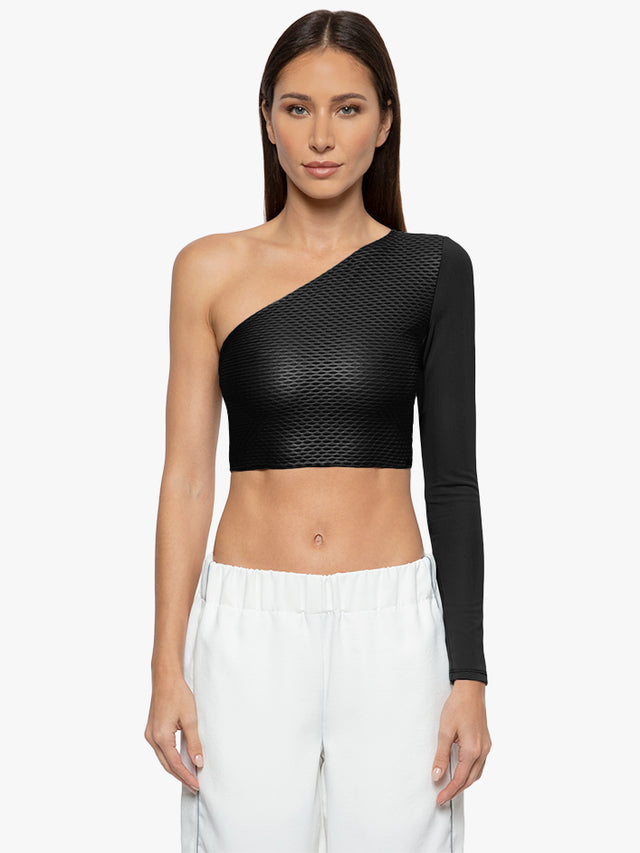 Pure Netz Crop Top