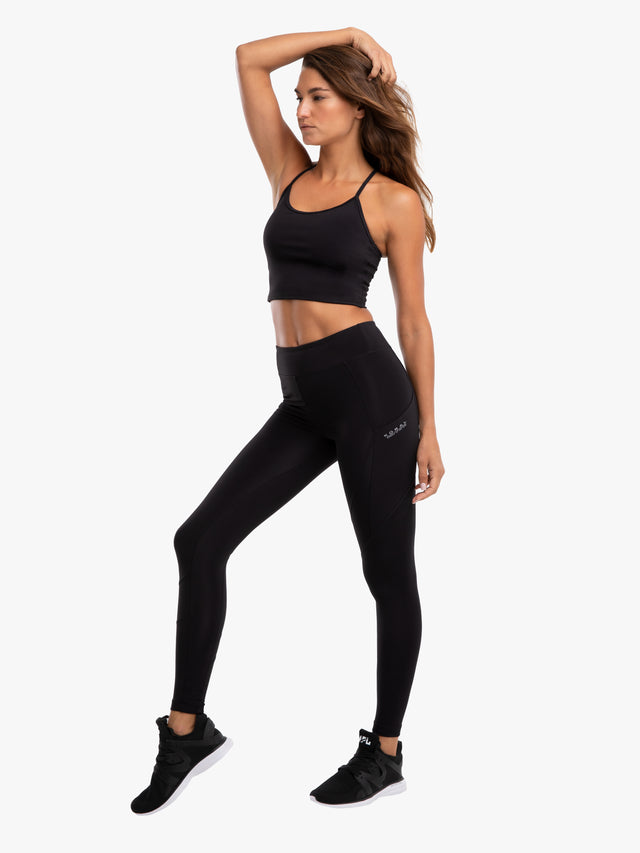 Pista Blackout High Rise Legging - Black