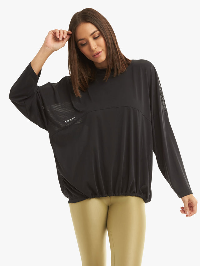 Prestige Long Sleeve Cupro Top