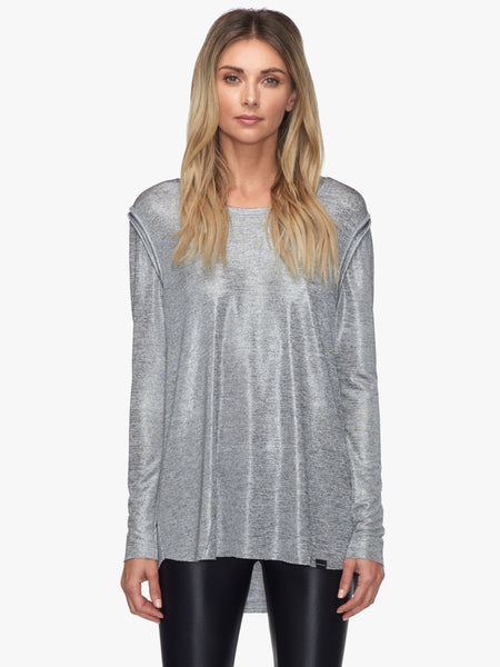 Prime Deanna Top - Silver Heather