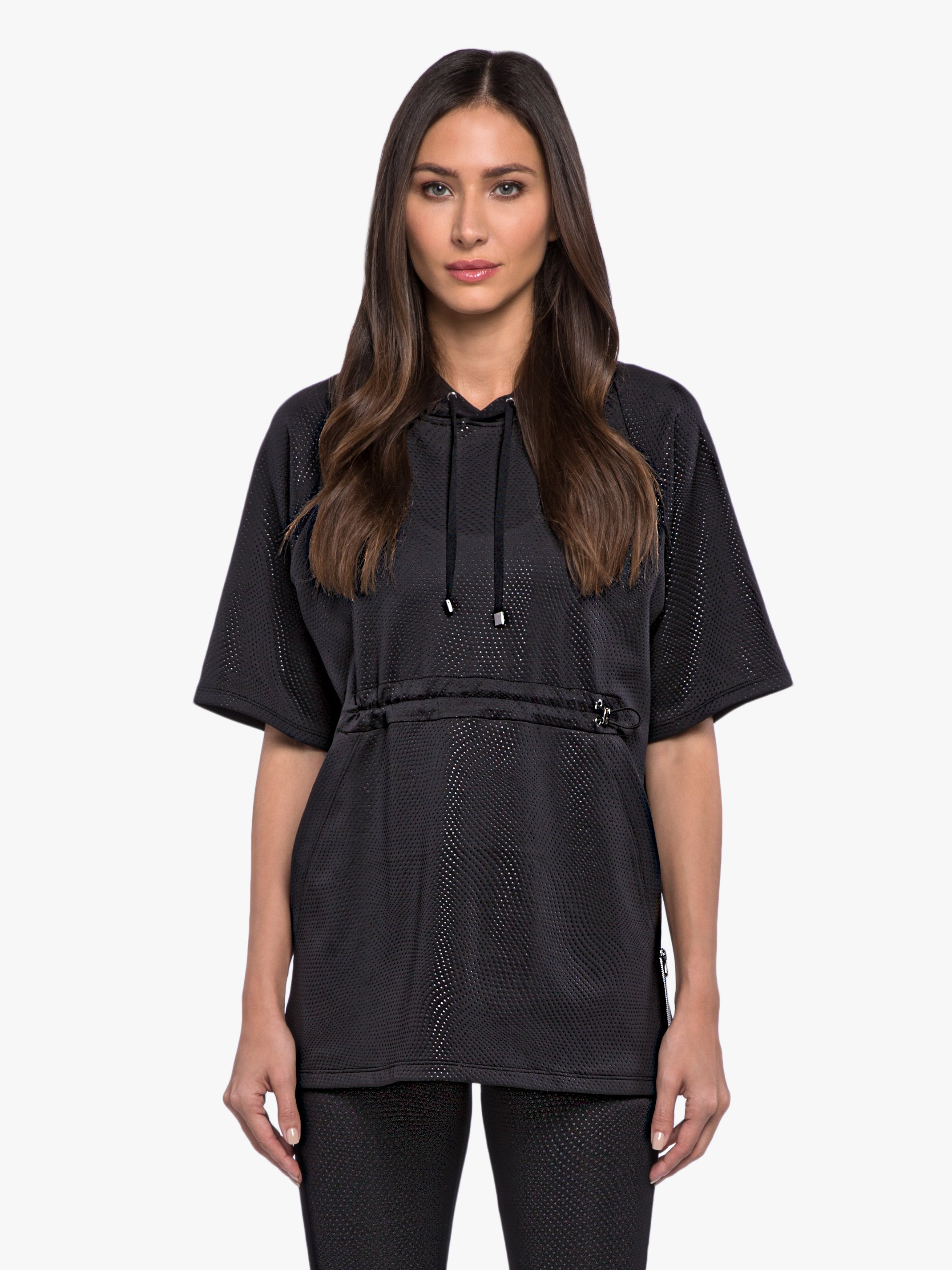 Quincy Etch Tunic - Black