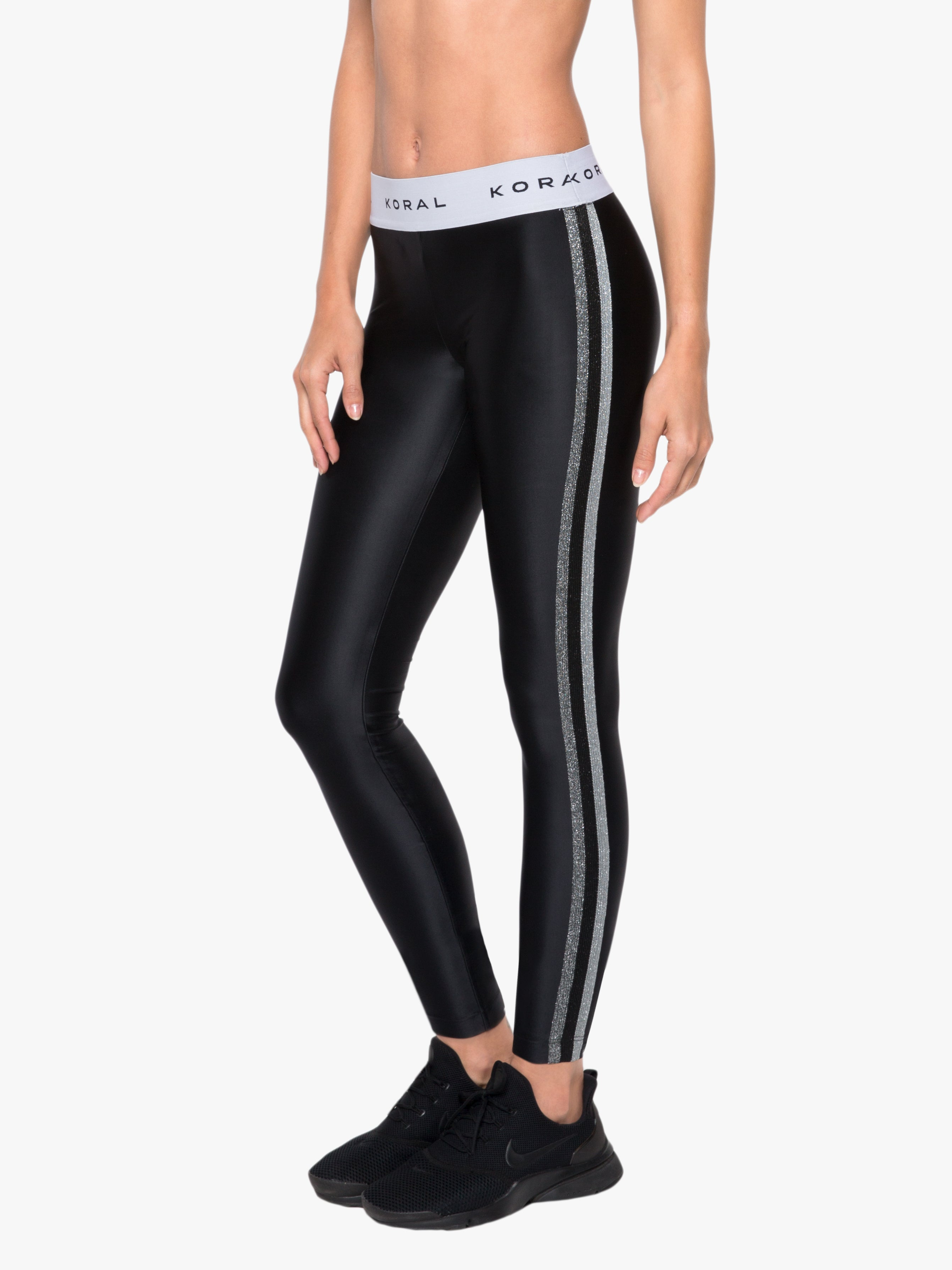 Rhys Mid Rise Energy Legging - Black