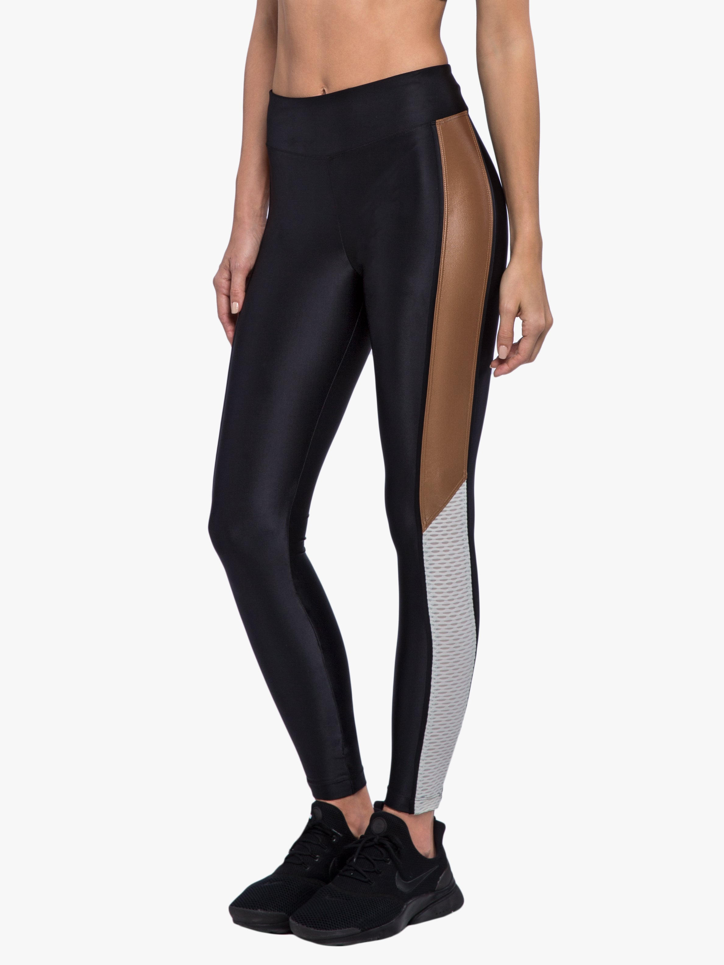 Serendipity Legging - Black/Toffee/Vanilla