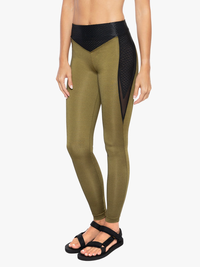 Taint Shantung High Rise Legging