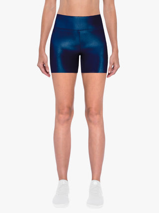 Slalom High Rise Infinity Shorts - Midnight Blue