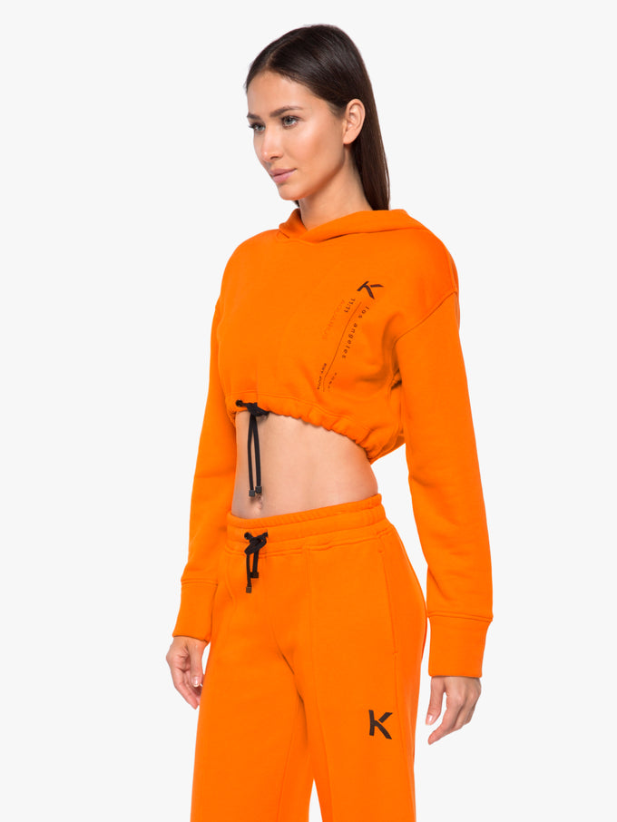 Space Matte Sweatshirt - Jasper Orange