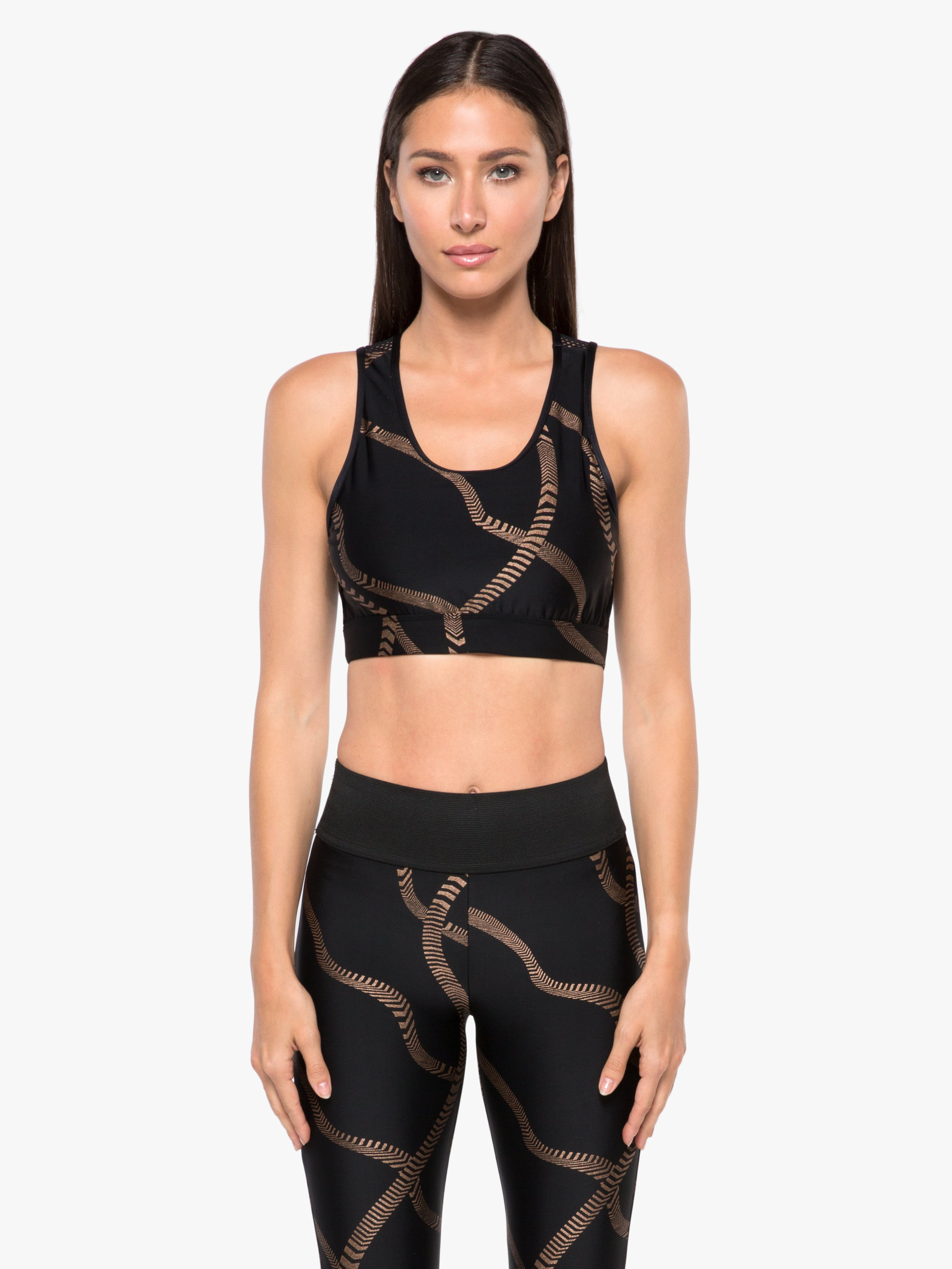 Stamina Impression Sports Bra - Convolve Black