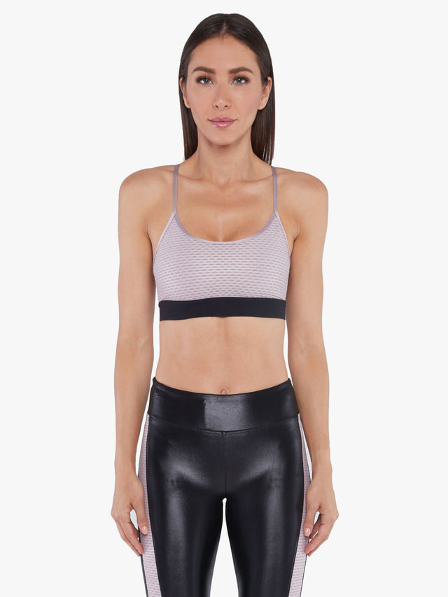 Sweeper Shiny Netz Sports Bra