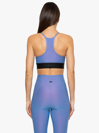Sweeper Iridescent Sports Bra - Auralite