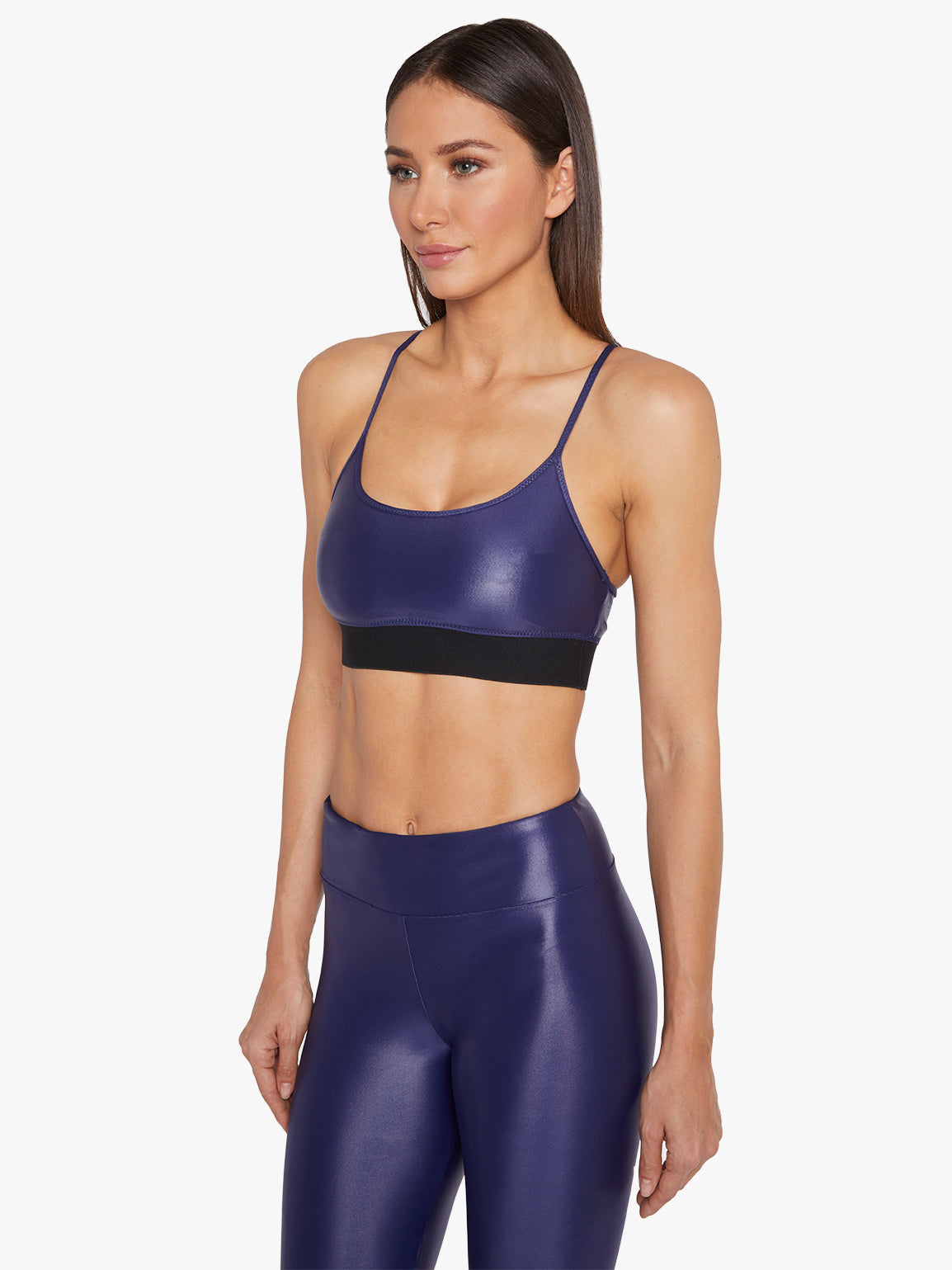 Sweeper Sports Bra - Marinho