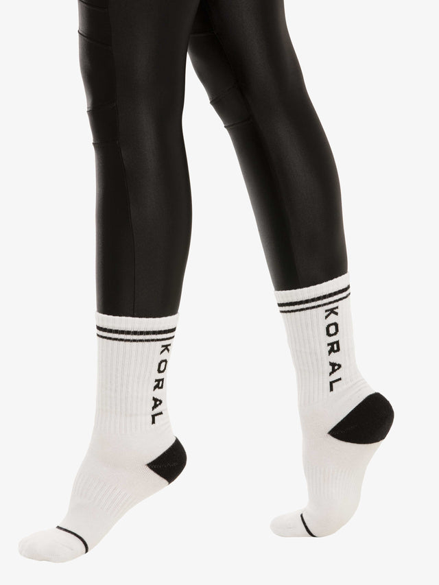 Balance French Terry Logo Socks