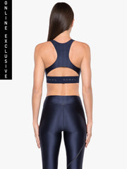 Tax Charge Sports Bra - Maritime Blue