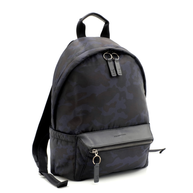 Koral Lightweight Nylon Puff Backpack in Midnight Jungle Print