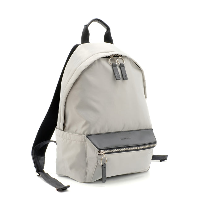 Koral Lightweight Nylon Puff Backpack in Muted Silver
