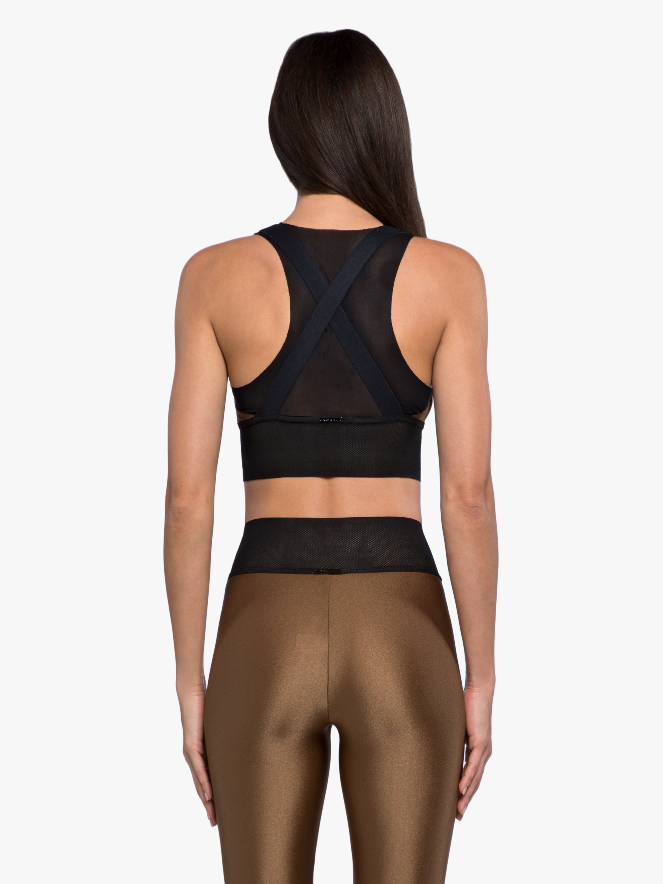 Utopia Sprint Sports Bra - Toffee/Black