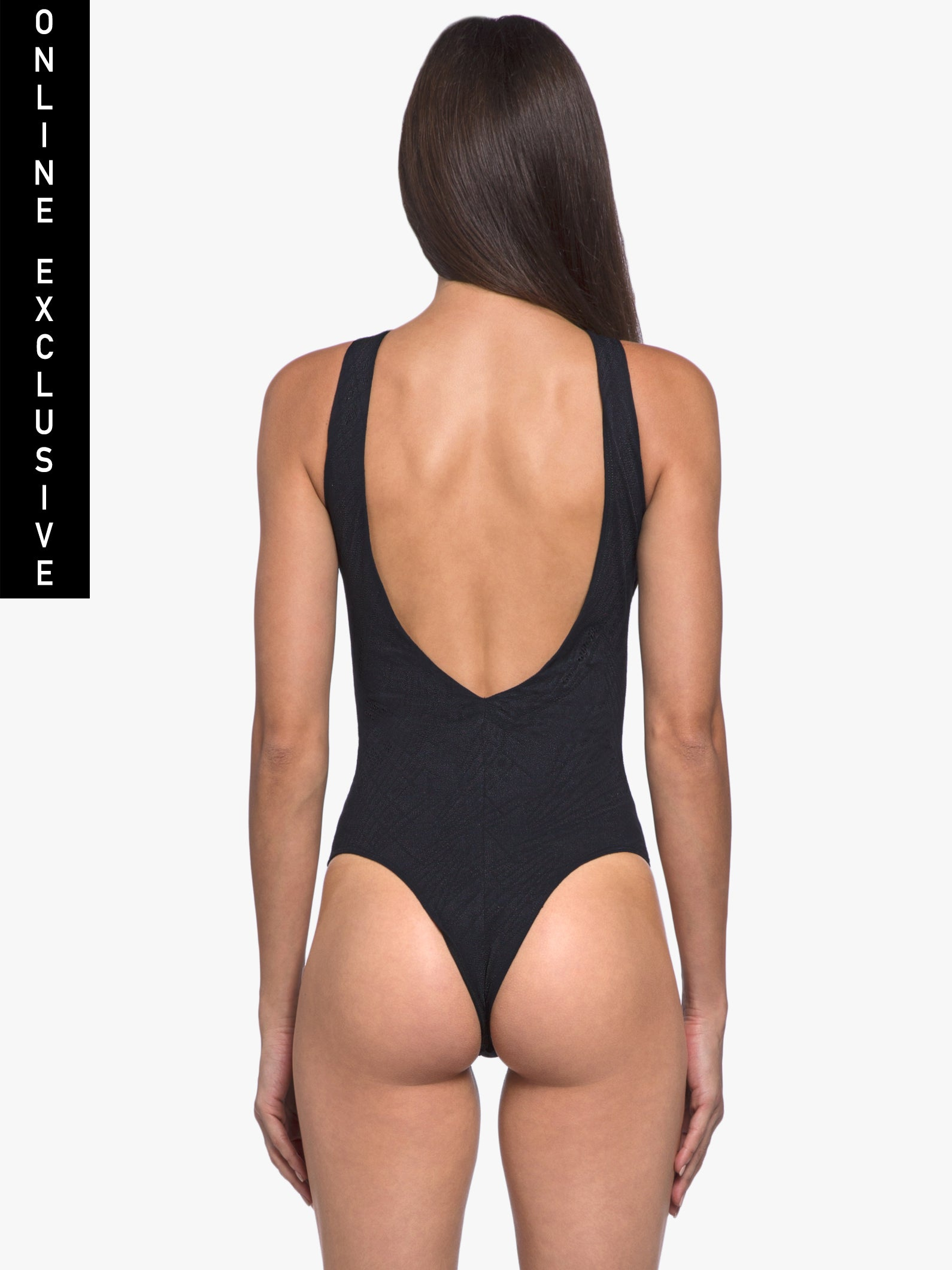 Vague Maxen Bodysuit - Black