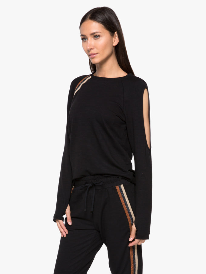 Wisdom Daze Top - Black